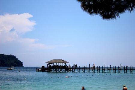 迷戀沙巴海洋風情海島樂 馬穆迪海島樂Mamutik Island Day Trip
